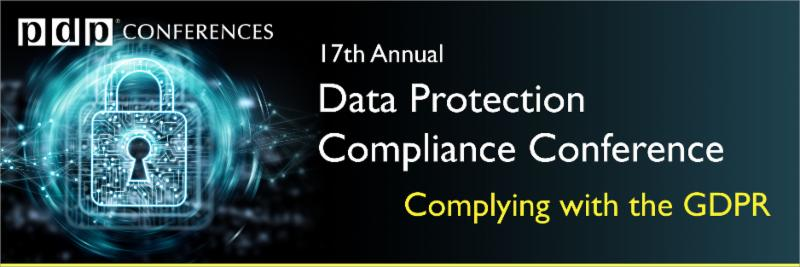 17th Annual Data Protection Conference (GDPR)